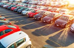auto dealer lot